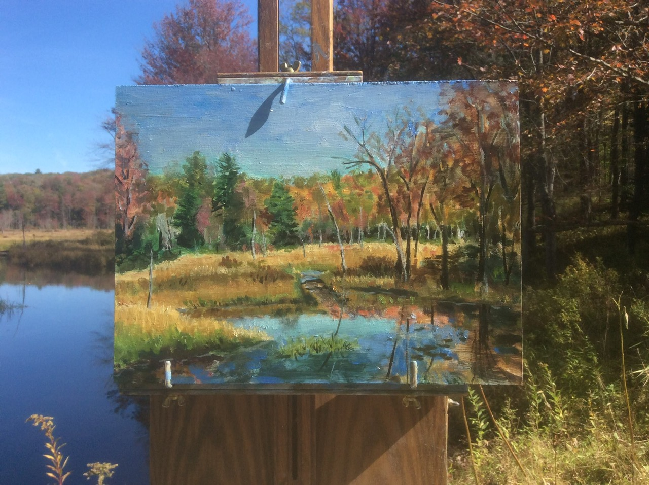 [Fall Painting, Acworth, NH]