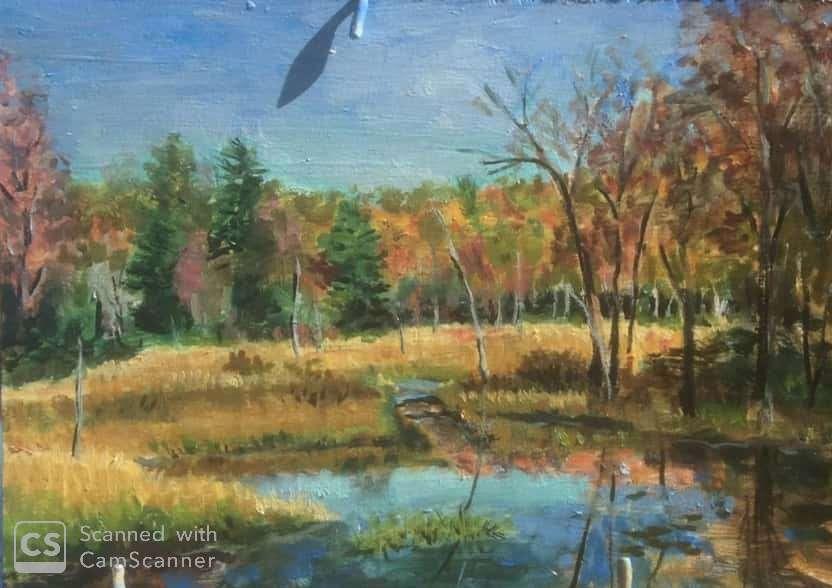 [Fall Painting, Acworth, NH]