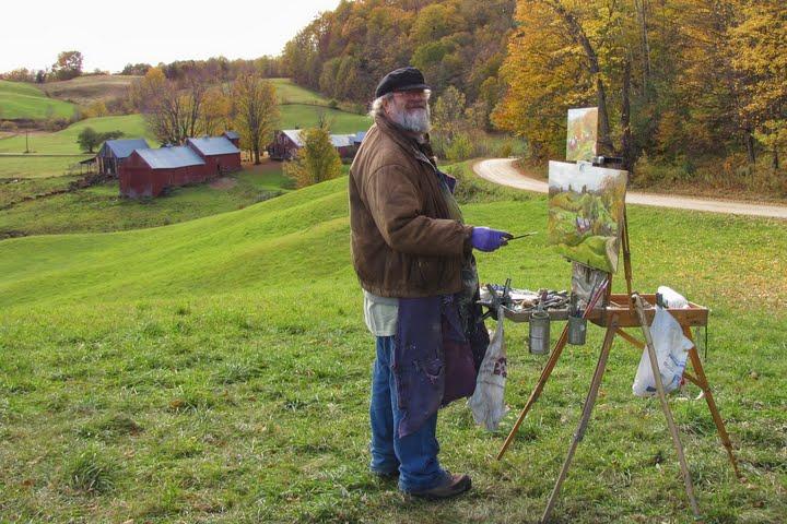 [Rick painting]