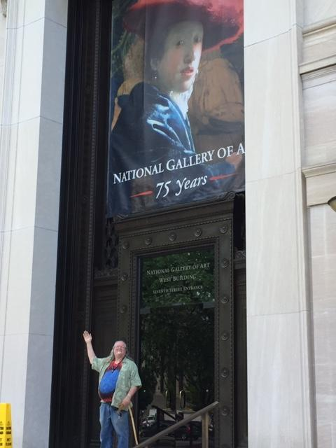 [Rick at the National Gallery]